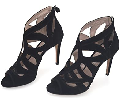 Sandalo Sandalo Nero Nero Miu Sandalo Miu Miu Camoscio Nero Camoscio Sandalo Miu Camoscio hxBortQCsd