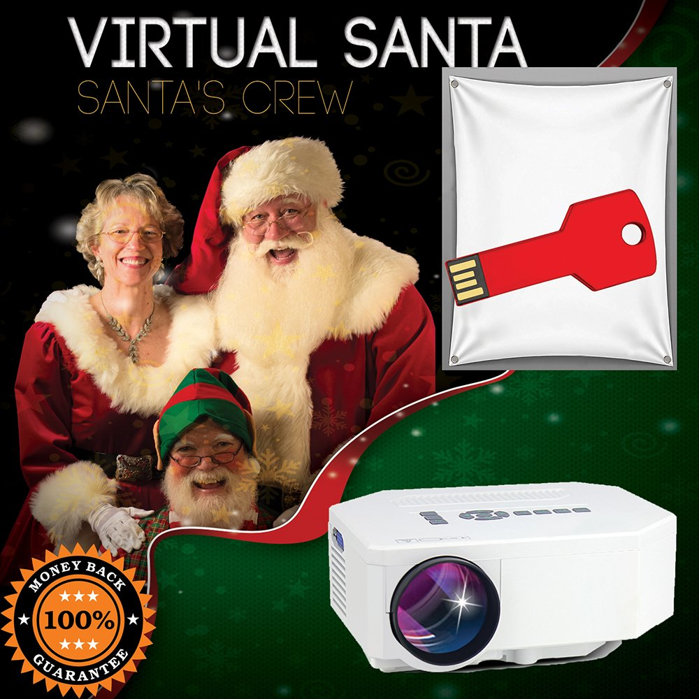 Virtual Santa Projector Bundle, Everything to Need to Get Started!
