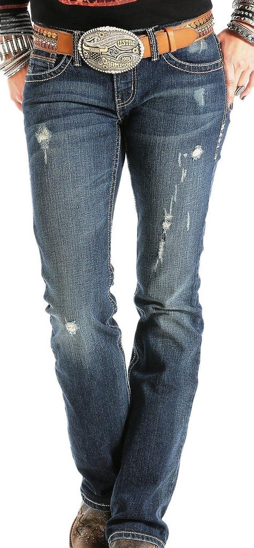 Cruel Girl Western Jeans Womens Abby Aztec 9 Long Med CB41354071