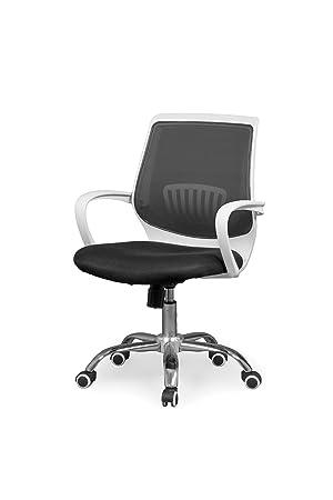 Due-home Silla de Oficina ergonomica, Silla para Escritorio o Estudio, Medidas: 59,5x87,5x59 ↗ cm Trend