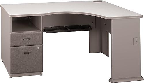 Bush Business Furniture Series A Single 2 Drawer Pedestal Corner Desk