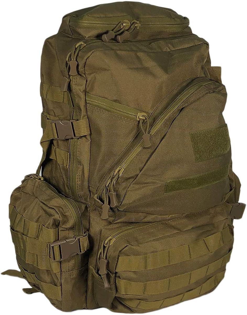 50L Waterproof Backpack Tactical Rucksack Camping Hiking Travel Outdoor Bag UK