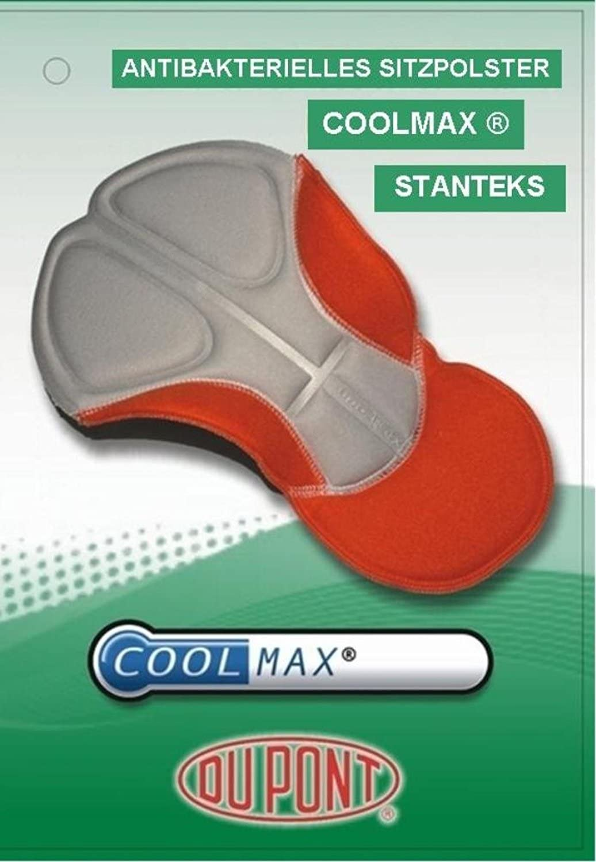 STANTEKS Radhose Lang Radlerhose Tr/ägerhose Bib Tights Coolmax Sitzpolster SR0043