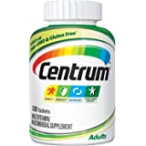 Centrum Adult (300 Count) Complete Multivitamin / Multimineral Supplement Tablet, Vitamin D3, B Vitamins, Iron…
