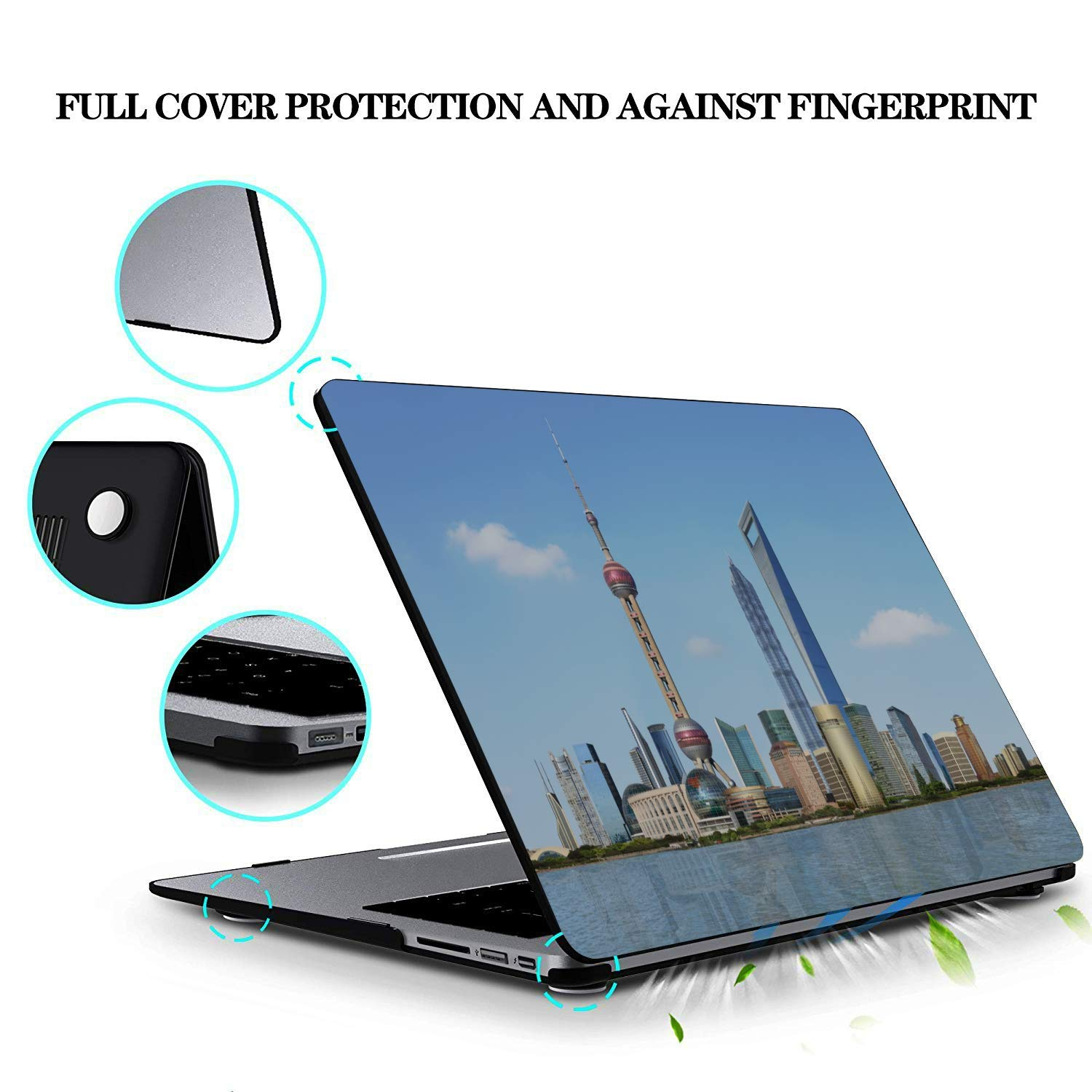 MacBook Computer Case Shiny Retro Noble Pentagram Sky Plastic Hard Shell Compatible Mac Air 11 Pro 13 15 MacBook Cover 15 Inch Protection for MacBook 2016-2019 Version