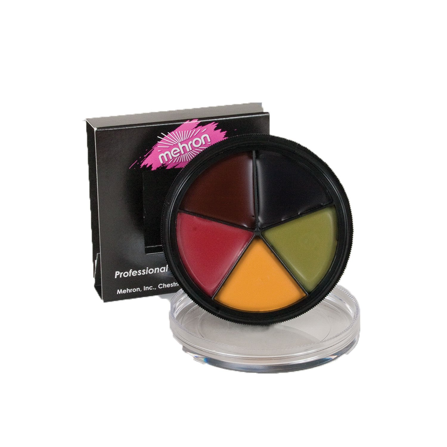 Mehron ProColoRing Bruise Wheel Professional Makeup, 1 Ounce (5-Color)