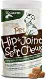 OxGord Glucosamine Chondroitin Hip Joint - 240ct Supplement for Dogs Cat Advanced Level 2 Formula All Natural Soft Chews, MSN