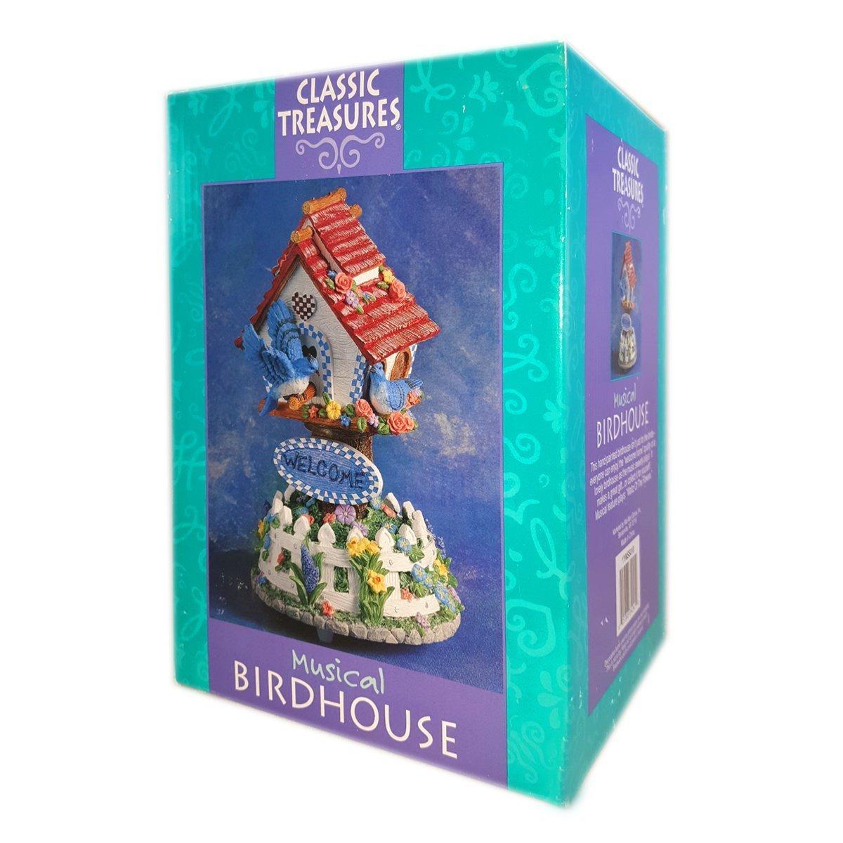 柔らかい クラシックTreasures Musical Musical Birdhouse Birdhouse Plays「花のワルツ」 B01M04SCIJ B01M04SCIJ, よろずや倉庫:48a0a280 --- arcego.dominiotemporario.com