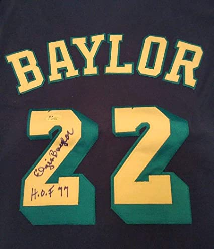 c67030b724f Elgin Baylor Hof 77 Autograph Mitchell Ness Jersey JSA Authentic Los  Angeles Lakers Autographed Signed Autograph at Amazon's Sports Collectibles  Store