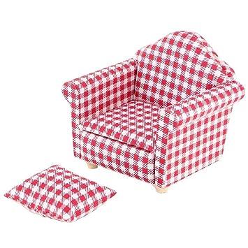 Amazon.com: iLAZ - Mini sillón miniatura para casa de ...