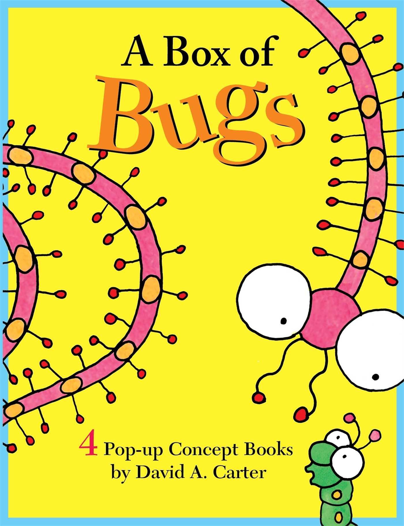 A Box of Bugs: 4 Pop-up Concept Books (David Carter's Bugs)