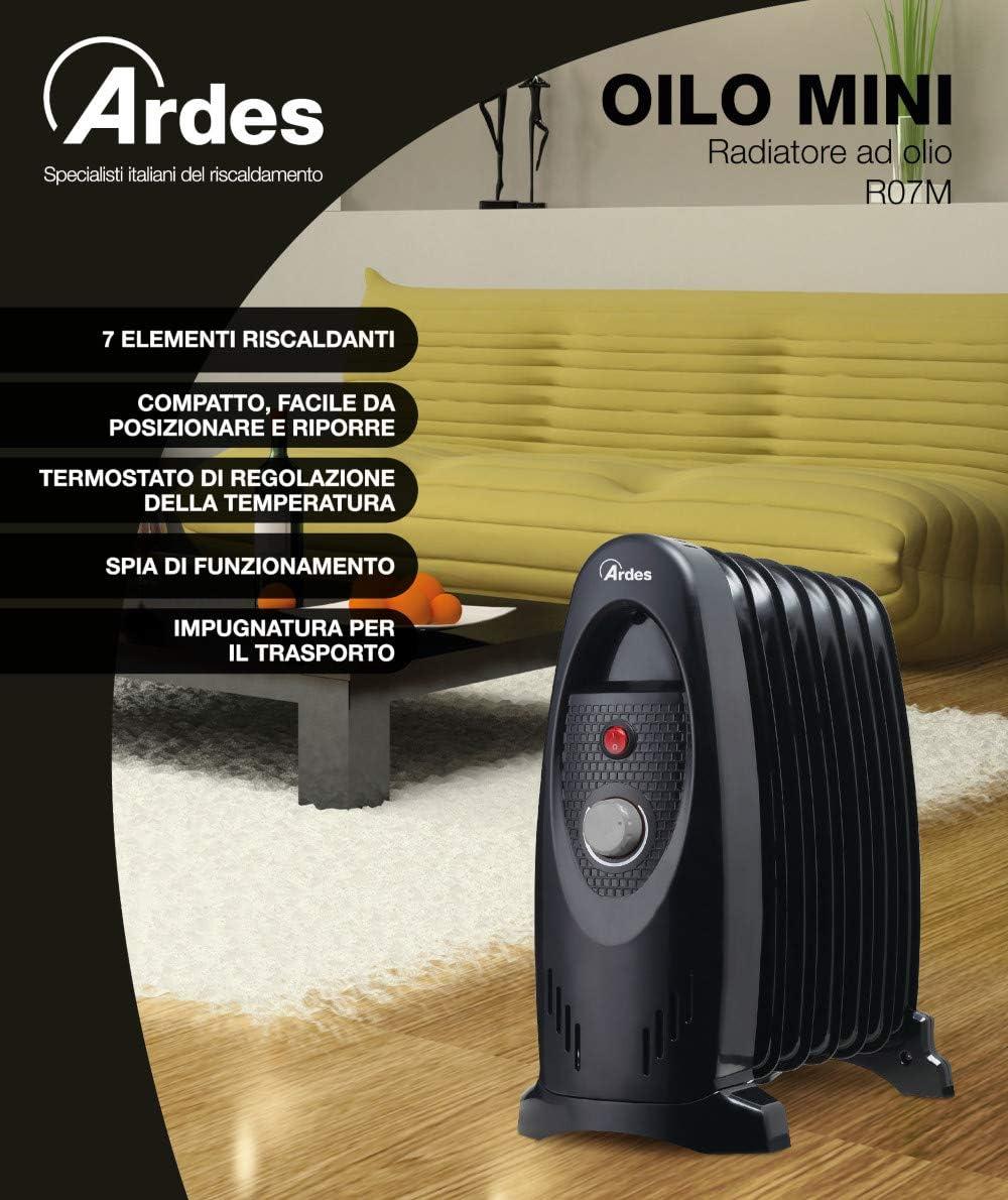 Ardes AR4R07M - Calefactor (Calentador de aceite, Aceite, IPX0, CE ...