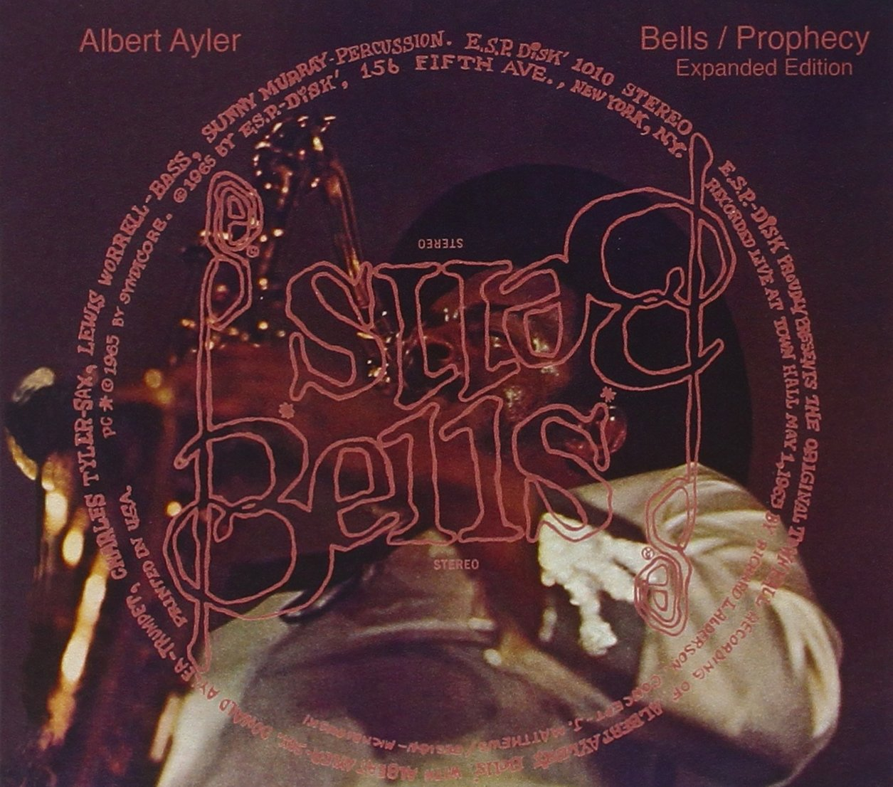 CD : Albert Ayler - Bells/ Prophecy: Expanded Edition (Expanded Version, 2PC)