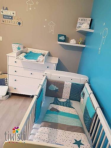 Décoration complète pour chambre de bébé et chambre d\'enfant ...