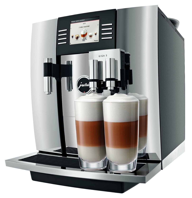 JURA GIGA 5 Independiente Totalmente automática Máquina espresso 2.6L 20tazas Negro, Cromo - Cafetera (Independiente, Máquina espresso, Negro, Cromo, Taza, ...