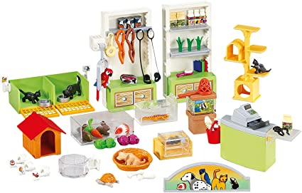 Amazon.com: Playmobil Pet Store interior: Toys & Games