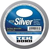 Fita Silver, Tekbond, 64491, Prata, 48 x 25M