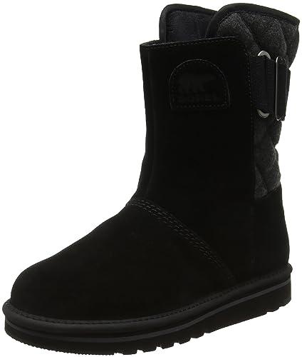 8dd72527e Sorel Women's NEWBIE Boots, Black, Grill 010), 3 UK 36 EU
