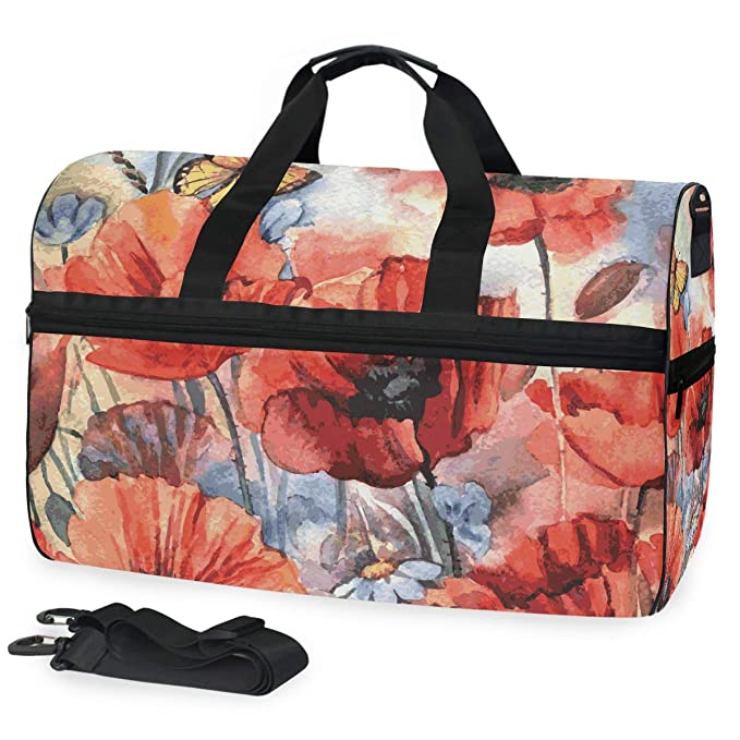Portable Luggage Duffel Bag Alpaca Sir Travel Bags Carry-on in Trolley Handle JTRVW Luggage Bags for Travel