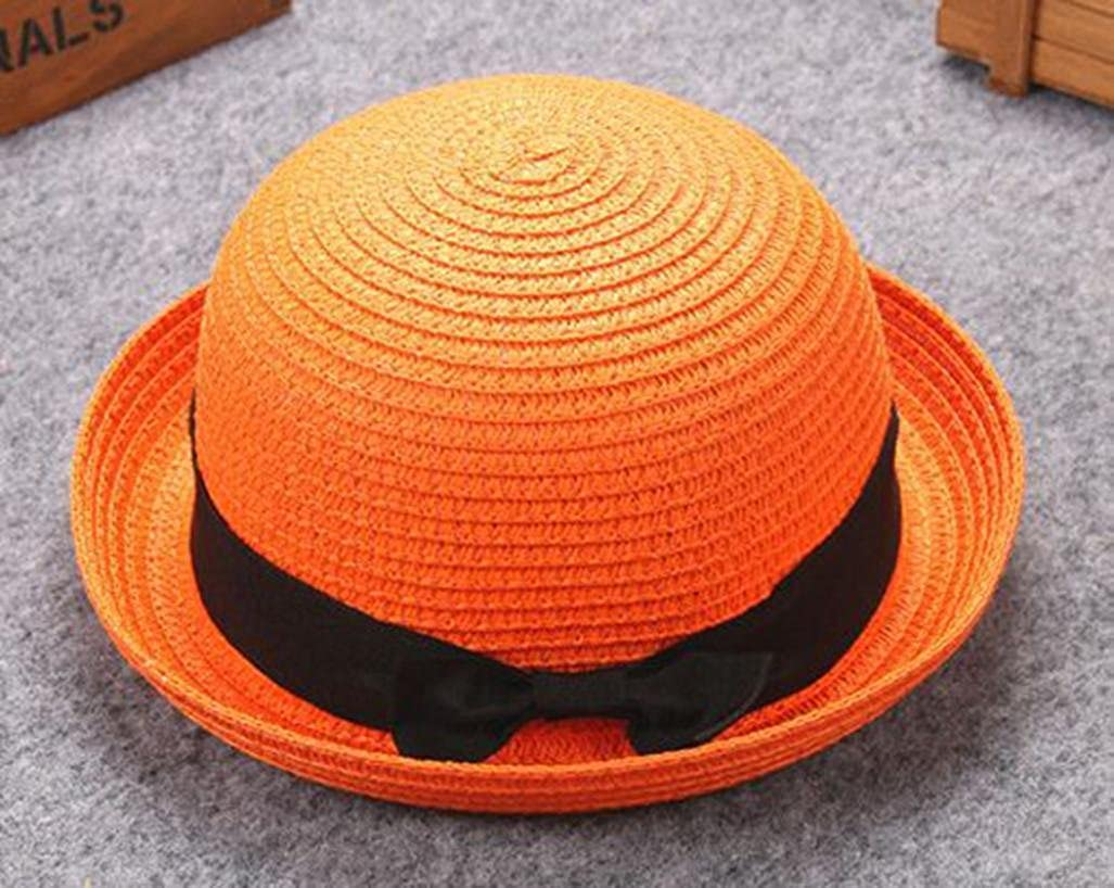 Ikevan Mother/&Me Baby Bowknot Children Breathable Hat Straw Hat Kids Hat Boy Girls Cap by