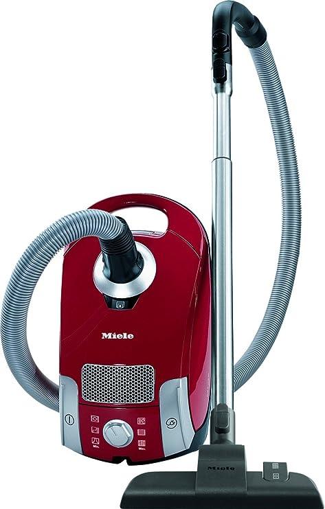 Miele Compact C1 EcoLine – Aspirador con bolsa rojo Mangue: Amazon.es: Hogar