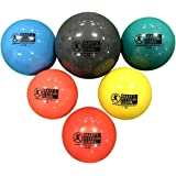 Plyo Soft Shell Weighted Ball Set 32, 21, 14, 7, 5, and 3.5oz-Pitching/Throwing Velocity Training