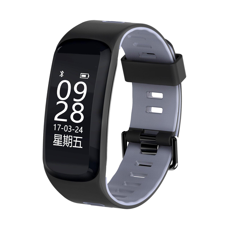 HanTitor Smart band F4 Smart wristband Heart rate tracker Blood pressure oxygen Fitness bracelet IP69 Waterproof GPS Smart watch