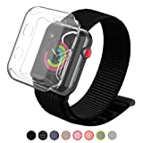 YIUES for Apple Watch Band 38mm with Case, Soft