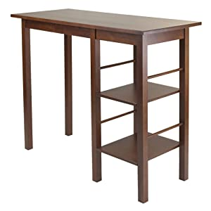 Winsome Wood 94144 Egan Dining, Antique Walnut