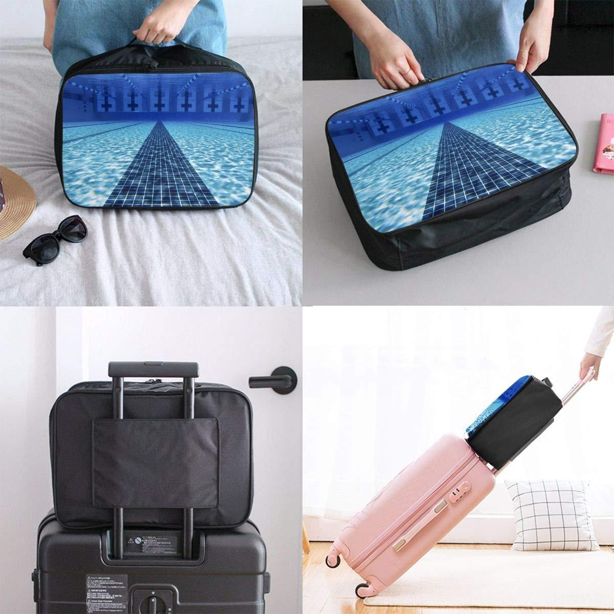 JTRVW Luggage Bags for Travel Lightweight Large Capacity Portable Duffel Bag for Men /& Women Swimming Pool Travel Duffel Bag Backpack