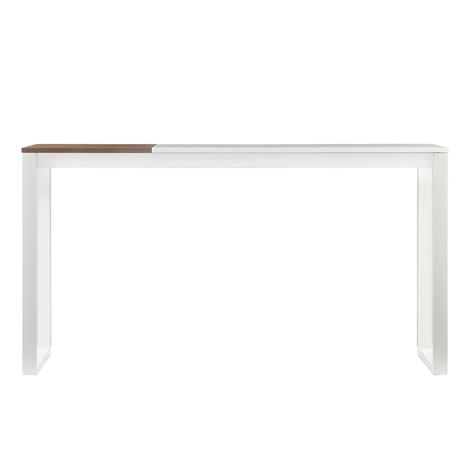 Holly Martin Lydock Media Console Table, White Finish
