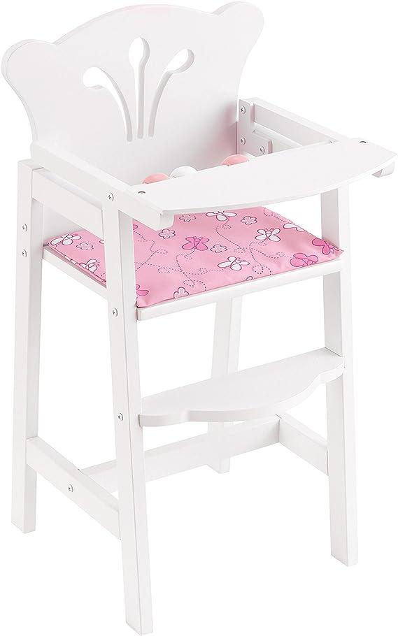 KidKraft 61101 Trona de madera Lil Doll para mu/ñequitas de 45/cm muebles para dormitorio de ni/ños