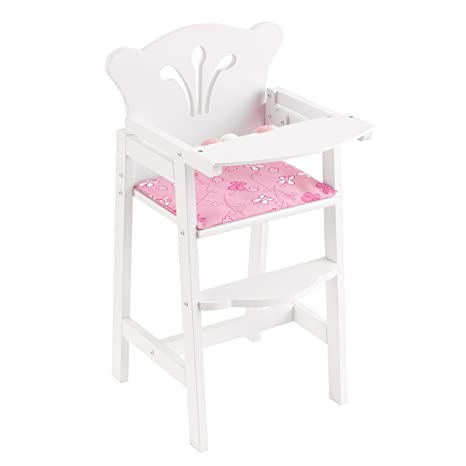 fa29fa8941d0 Amazon.com  KidKraft Lil  Doll High Chair  Toys   Games