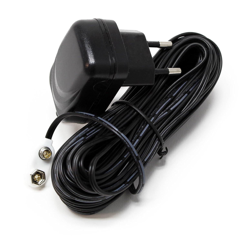 WilTec Adaptateur Secteur pour Catwatch et Pestfree avec 10m Câble