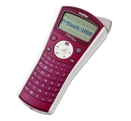 Brother P-touch 1080 Térmica directa 180 x 180DPI - Impresora de etiquetas (Térmica directa, 180 x 180 DPI, 10 mm/s, 9 mm, 1,2 cm, Negro)