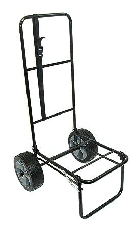 Bison - Carro de pesca plegable con neumáticos a prueba de pinchazos (25,4 cm): Amazon.es: Deportes y aire libre