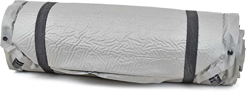 RSonic TruWare Selbstaufblasende Isomatte XXL Luftmatratze Thermo Luftbett Luftmatte erweiterbar 220 x 80 x 3 cm mit 2 Ventilen