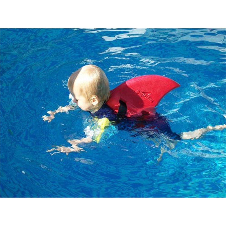 Xtrem Toys 00532 Flotador Aleta de Tiburón, rojo: Amazon.es: Juguetes y juegos