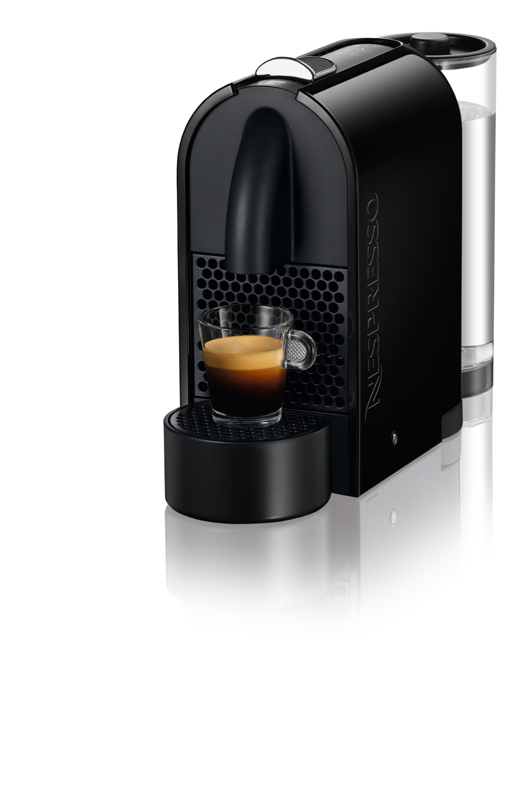 Nespresso U D50 Espresso Maker, Pure Black
