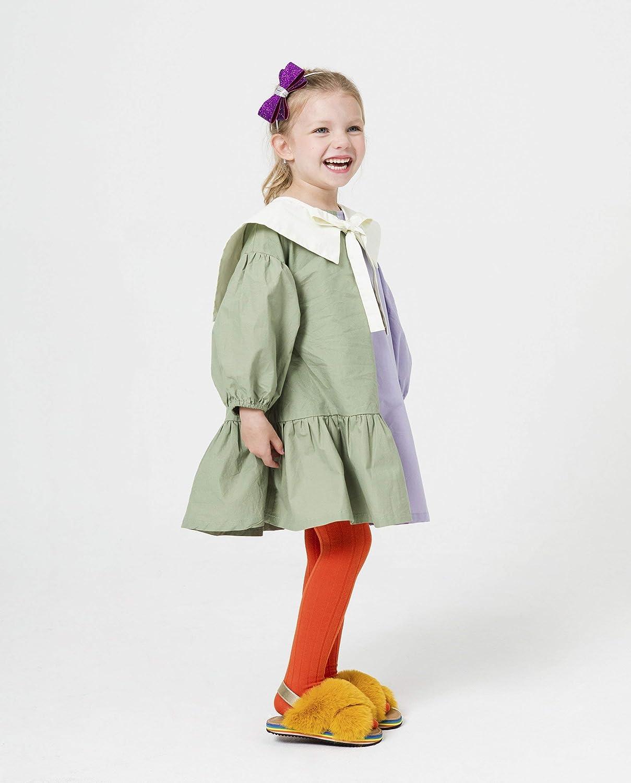 MooMooz baby girls ultra-soft cotton ribbed warm tights toddler stockings knit leggings