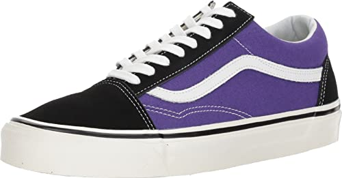 0a321b394c Image Unavailable. Image not available for. Colour  Vans Women s Ua Old  Skool 36 Dx (Anaheim Factory) Black Og Bright Purple
