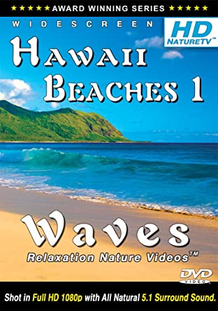 Amazon com: Best Hawaii Beaches 1 / Waves Relaxation Nature Videos