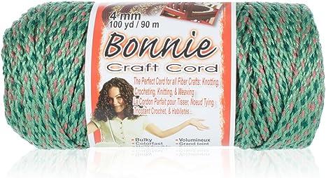 Coral 4mm x 100 yd Pepperell BB4100145 Bonnie Macrame Craft Cord
