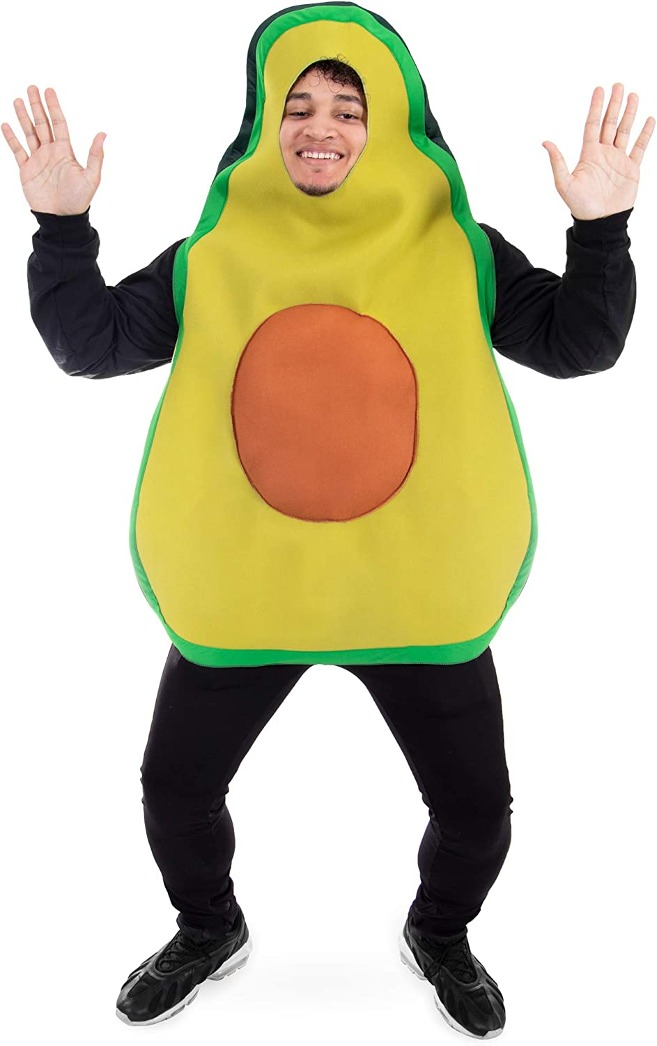 Amazing Avocado Halloween Costume - Funny Unisex Food Costumes for Adults Green