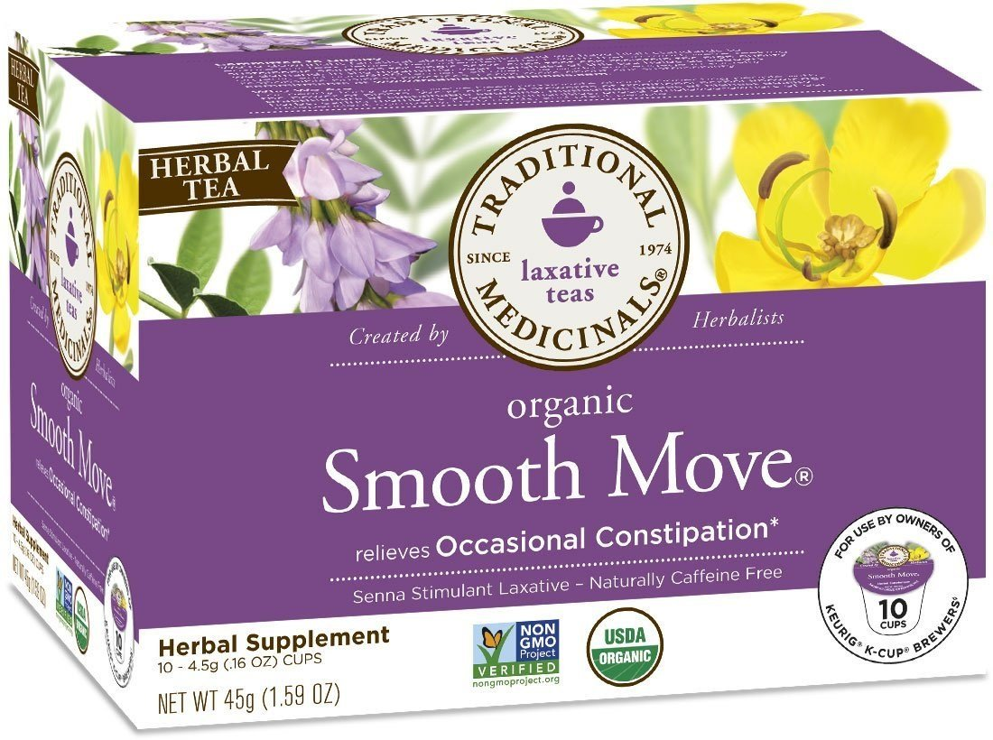 Traditional Medicinals Tea Smooth Move Sngl C by Traditional Medicinals (Image #1)
