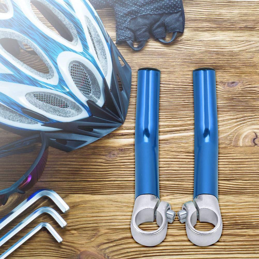 1 Paar Aluminiumlegierung Fahrrad Lenkergriff Ende Lenkerende mit Stopper f/ür 22,2 mm Lenker Ersatz VGEBY1 Fahrrad Lenkerende