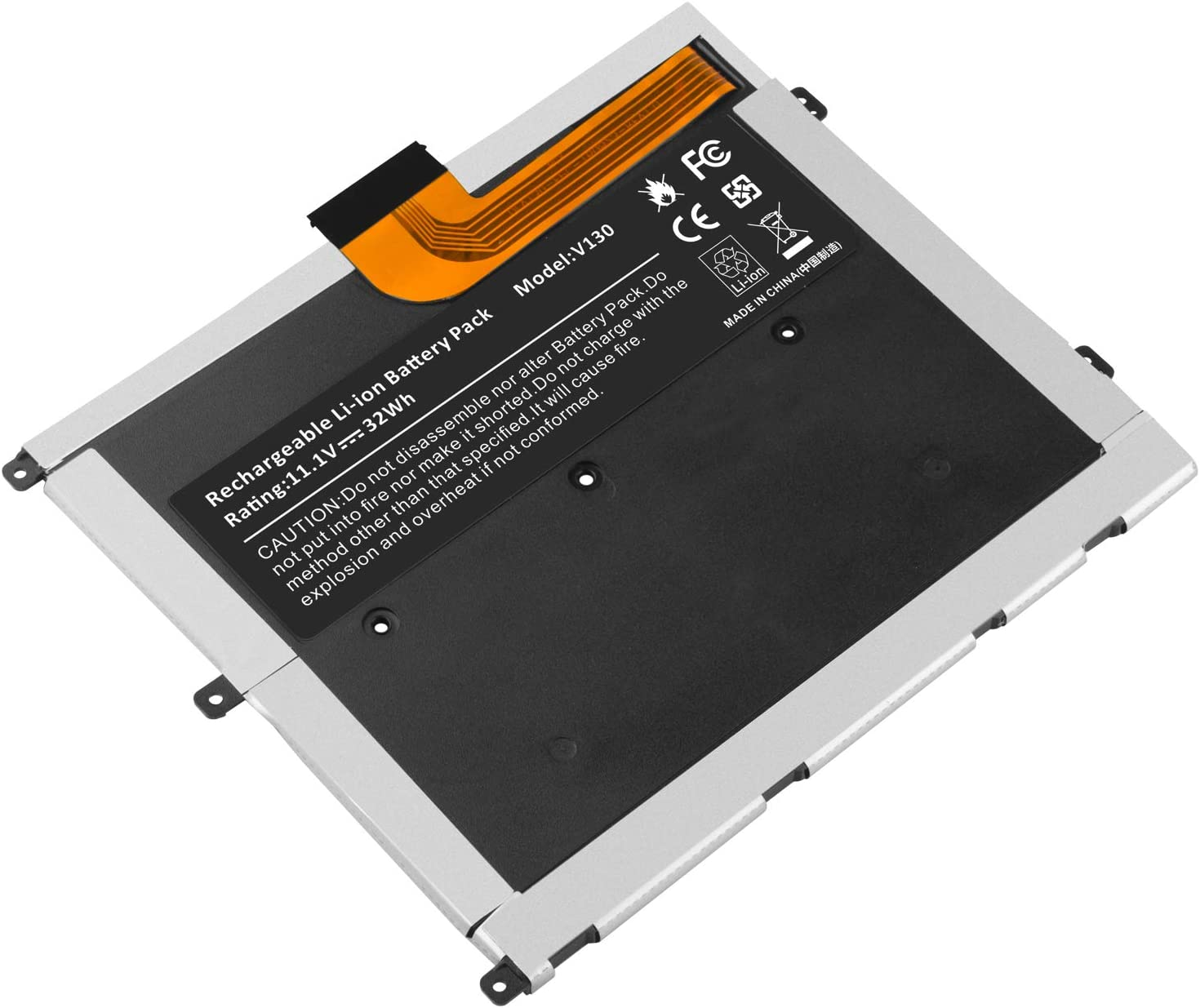 Laptop Battery for Dell Vostro V13 V130 V1300 V13Z, fit Part Number: 0449TX 0NTG4J 0PRW6G PRW6G T1G6P