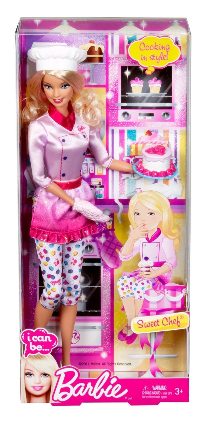 Amazon Price History for Barbie I can be Sweets Chef Doll