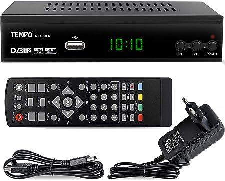 Hd Line Tempo 4000 A Dvbt2 Receiver Full Hd 1080p 4k Für Tv Hevc H 265