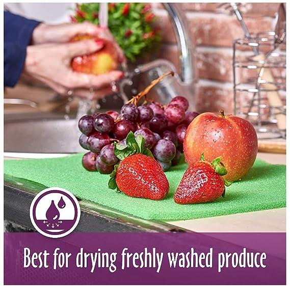 Juego de 6 extensores de frutas y verduras - 18 x 12 pulgadas ...